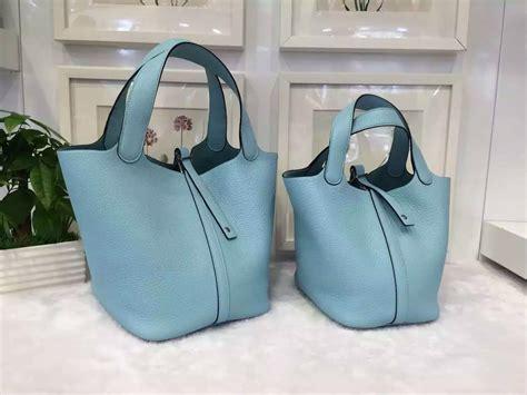 Tas H Picotion Bag In Bag discount hermes picotin lock bag 3p lagon blue togo leather two size hermes crocodile