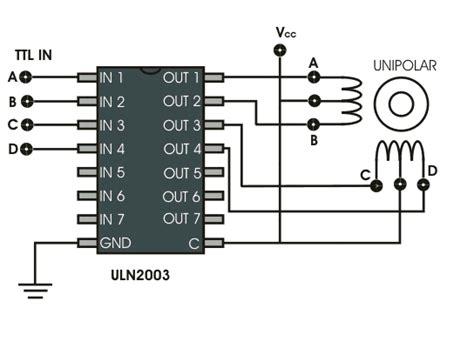 transistor bipolar stepper motor driver stepper motor drive