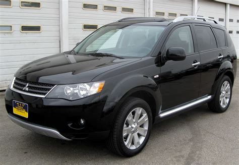 mitsubishi outlander 2009 mpg 2009 mitsubishi outlander ii pictures information and