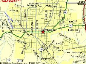 Cambridge Ohio Map by Cambridge Elks Oh Lodge No 448