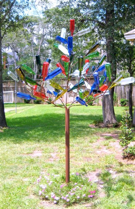 Home Decor Stores In Usa diy bottle tree c r a f t