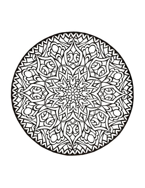 mandala coloring in book mandala 470 mystical mandala coloring book dover