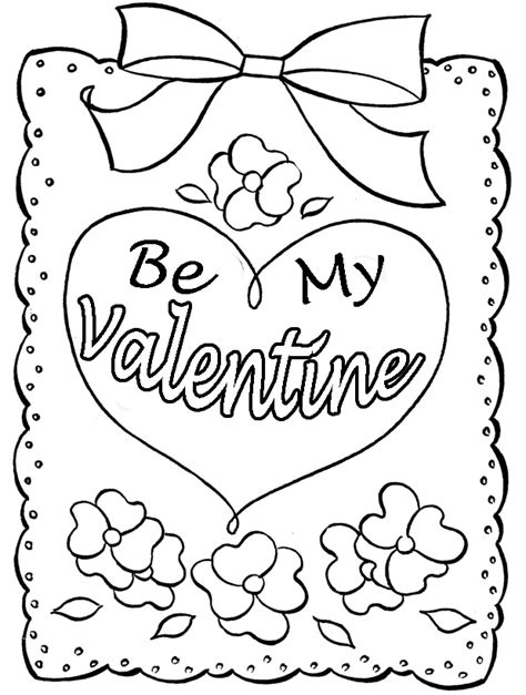 Coloring Pages For Valentines Cards | coloring valentines cards az coloring pages