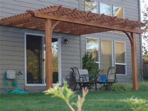cedar pergola swing modern home interiors materials