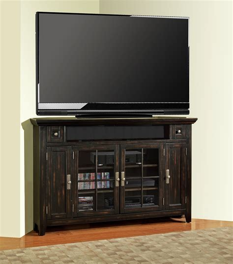corner console tahoe 62 quot corner console from house tah 62cr