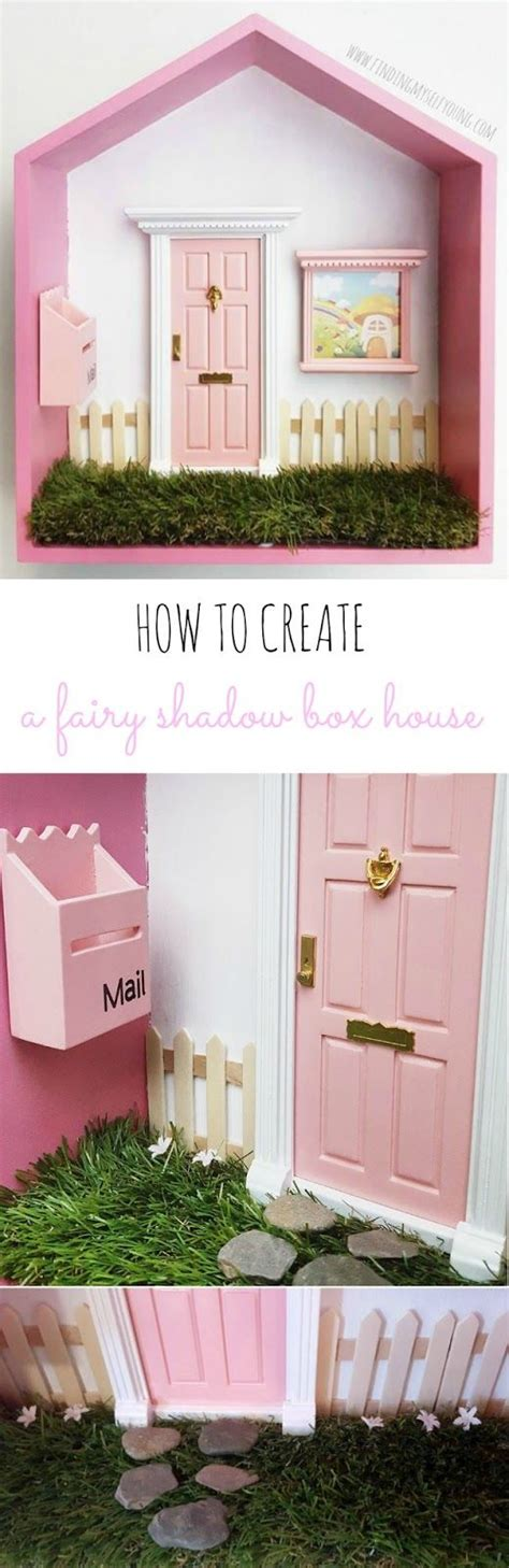 fairy doors for bedroom how to transform a shadow box into a fairy house