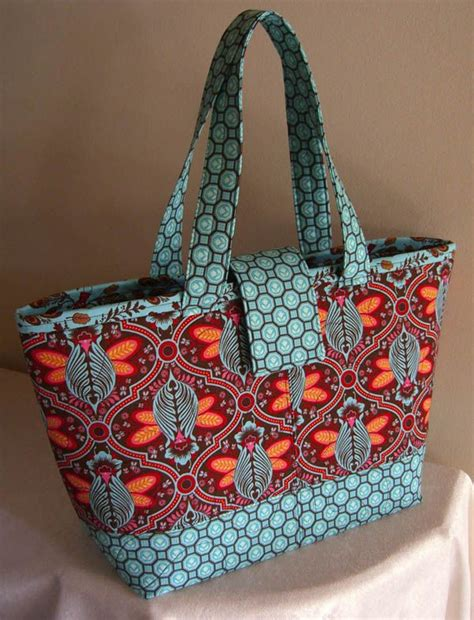 lazy girl designs 123 miranda day bag downloadable pattern 25 best ideas about handmade fabric bags on pinterest