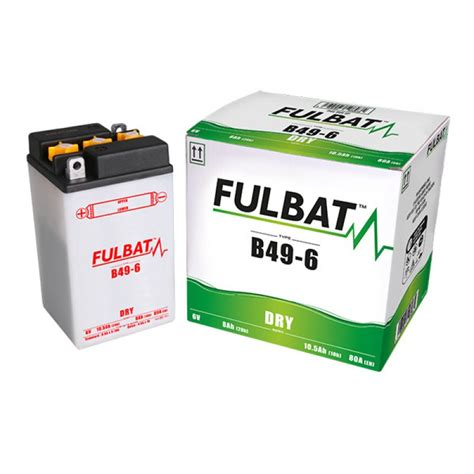 Motorrad Batterie 6v by Motorrad Batterie B49 6 6v 8ah Mot8706 All Batteries De