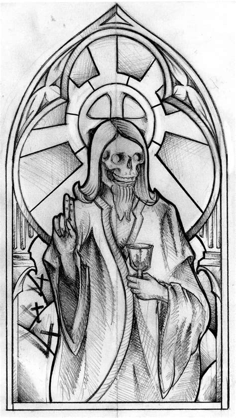 skull jesus tattoo design fabulous tattooshunter com