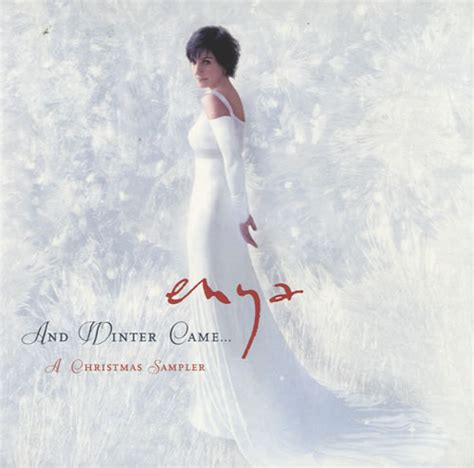 Cd Enya And The Winter Come enya and winter came a sler uk promo cd