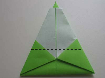 step by step christmas tree oragami wiki with pics easy origami tree folding how to make an easy origami tree