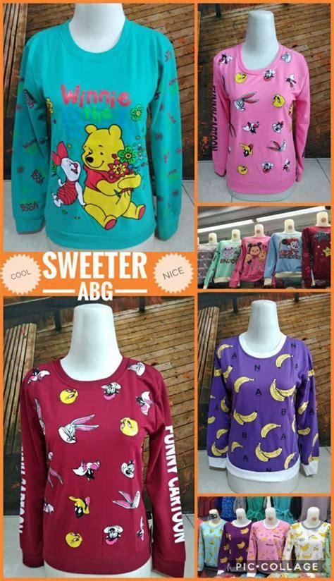 Sweeter Murah distributor sweater dewasa terbaru murah 23ribuan