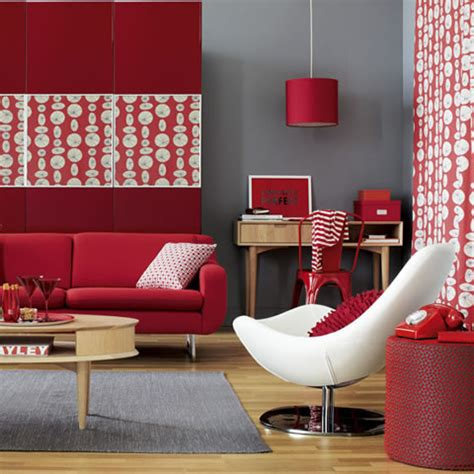 home decor red fill your home with red the man cave