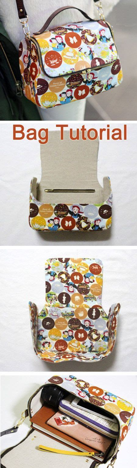 tutorial tote bag with lining a zippered lined tote bag for you to sew diy step by