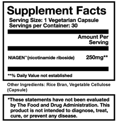 supplement vendors introducing niagen from live cell research featured