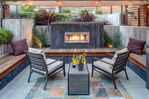 Chimney Decoration Ideas sitzpl 228 tze im garten modern und bequem gestalten