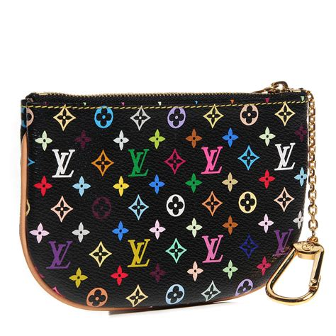 Louis Vuitton Giveaway Louis Vuitton Multicolore Pouchette Mm by Louis Vuitton Multicolor Pochette Plate Mm Black 96114
