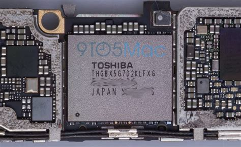 Ic Nand Flash 64gb New Support Iphone 5se6s6splus77plus new iphone 6s images show updated nfc 16gb base storage fewer chips design tweaks 9to5mac