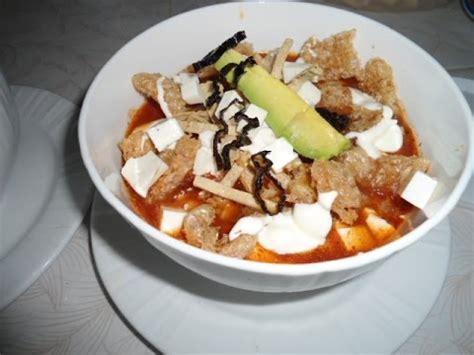 imagenes sopa azteca receta sopa de azteca sopa de tortilla comiendo rico y