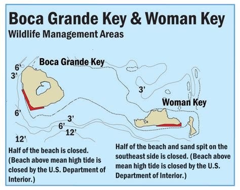 boca grande florida map map of boca grande wildlife management area