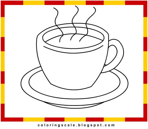 Free Coloring Pages Of Tea Cups Free Printable Tea Cup Coloring Pages