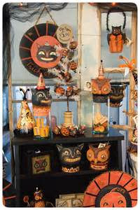Reproduction Vintage Halloween Decorations Johanna Parker Design A Peek At The Halloween Trunk Show