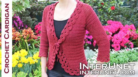 jacket pattern making youtube crochet triple stitch cardigan jacket part 2 of 2 youtube