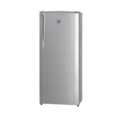 Kulkas Freezer Sharp jual sharp fj m189n ss silver freezer 1 pintu