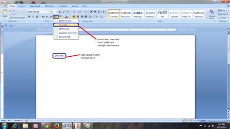 fungsi layout pada microsoft word saling berbagi cara mengubah format huruf pada ms word