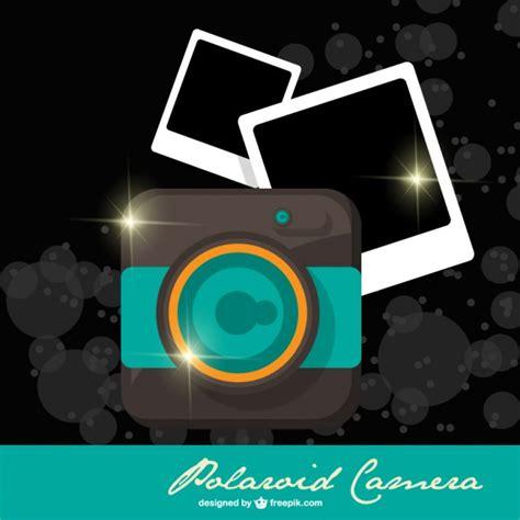 polaroid camera template vector free download