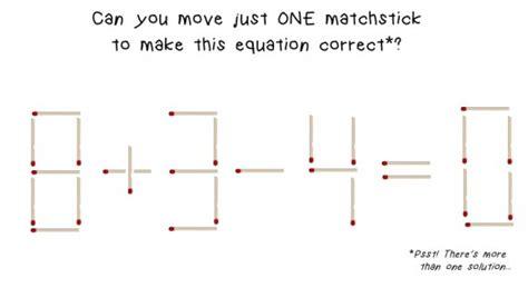 matchstick pattern questions matchstick math brain teaser
