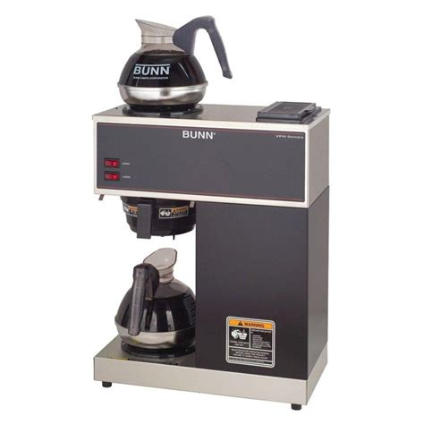 bunn coffee makers bunn 12 cup pourover commercial coffee brewer with 2