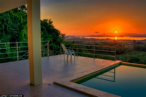 buy house in mountain view poolside mountain view real estate from phuket thailand during sunrise