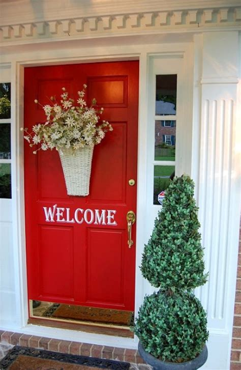 red door home decor pinterest holiday ideas bright bold and beautiful