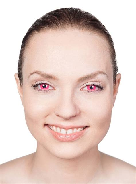 pink colored contacts uv pink contact lenses