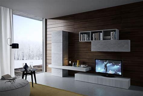 soggiorno design moderno soggiorno moderno olmo e cemento