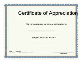Editable Certificate Of Appreciation Template by 9 Best Images Of Downloadable Certificate Of Appreciation