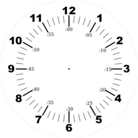 printable clock face with seconds clock face clip art at clker com vector clip art online