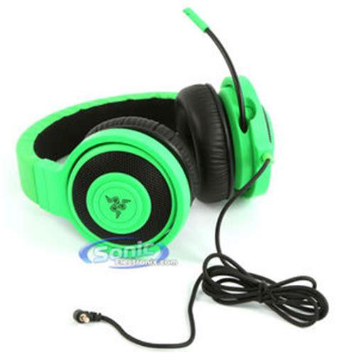 Original Razer Kraken Pro Esports Gaming Headset Green Rz04 razer kraken pro green expert gaming headset headphones with mic