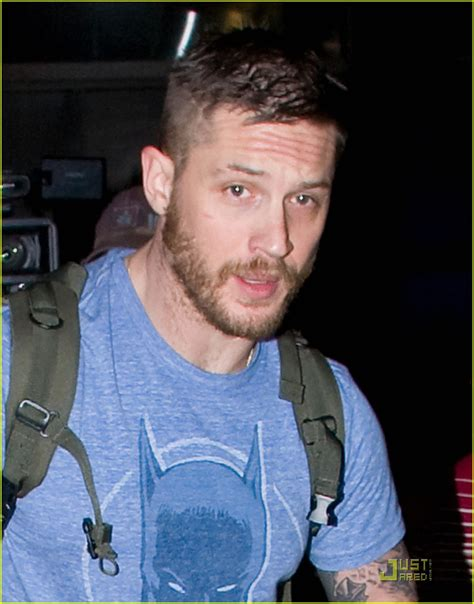 Tom Hardy: Batman Flies Into LAX   Oh No They Didn't!