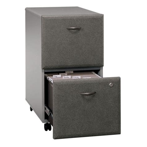 computer desk with 2 file drawers bush business a 48 quot computer desk with 2 drawer