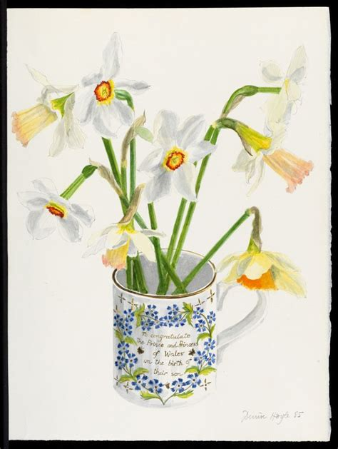 Narcissius Syari White 17 best images about watercolor flowers daffodils on
