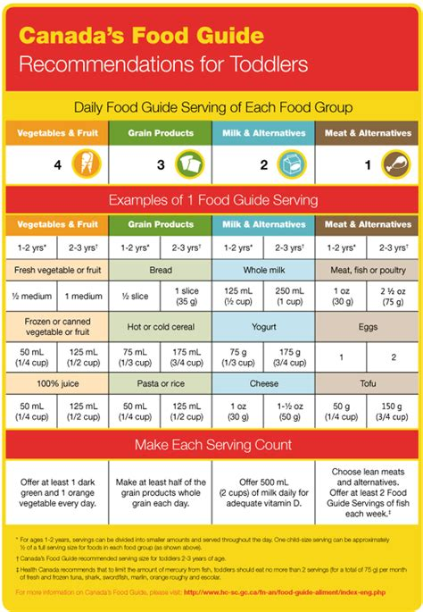 printable version canada s food guide canada s food guide for toddlers nutrition course