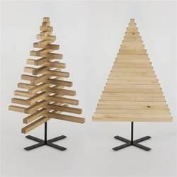 wooden christmas tree 30 inch 75 cm oak maple wood x