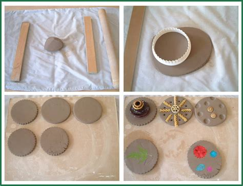make coasters how to make easy coasters learn to work with clay