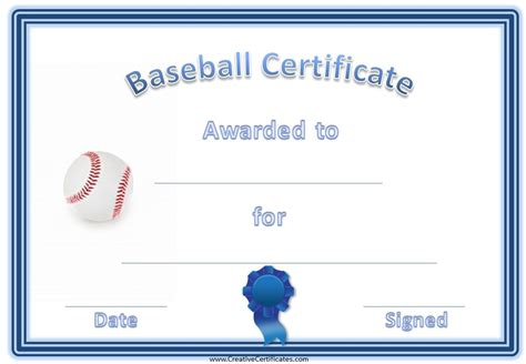 baseball award certificates images frompo 1