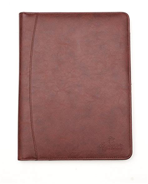 professional business padfolio portfolio organizer resume folder synthetic
