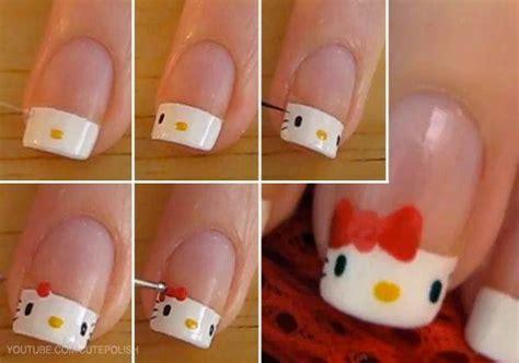 imagenes de uñas pintadas faciles y bonitas paso a paso u 241 as decoradas paso a paso decoracion de u 241 as