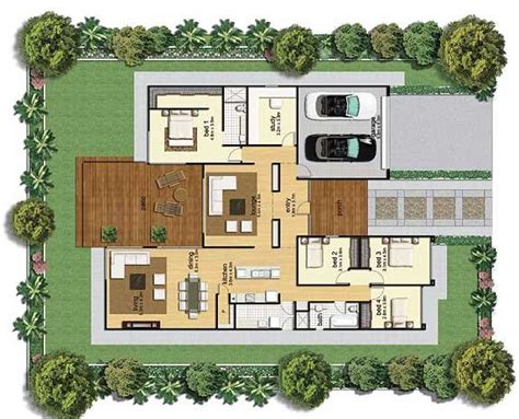 homes plans two bedroom house plans