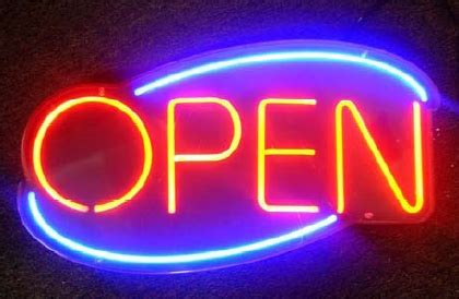 light up open closed sign a simple way to increase ad conversions while